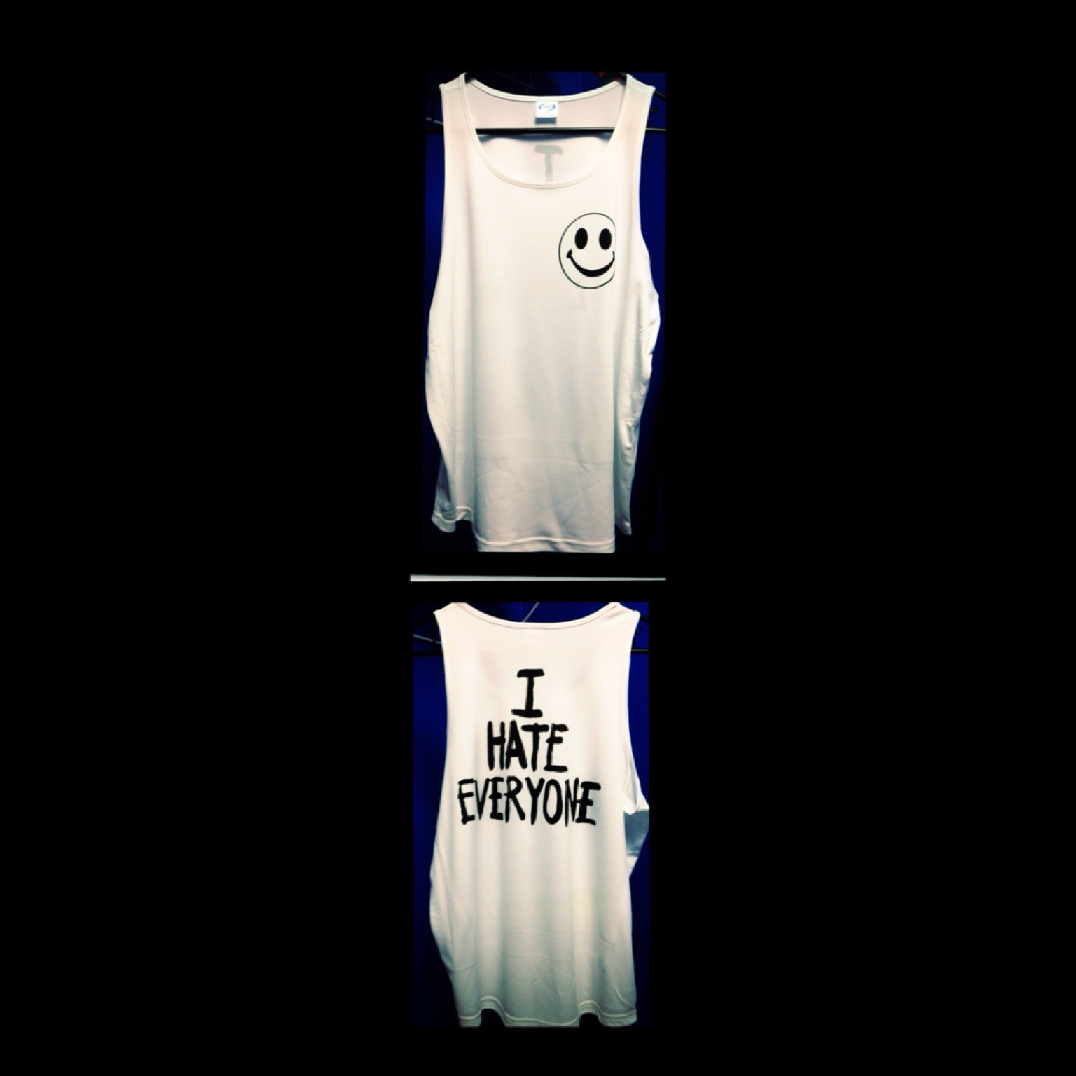 I HATE EVERYONE MOST POPULAR MOST WANTED TANK TOP