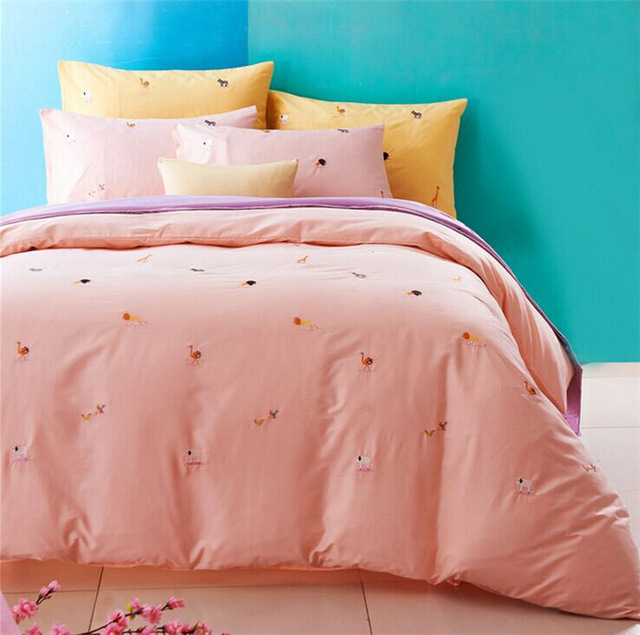 Aliexpress.com : Buy New 100% Cotton Home Textile Dot/Animal/Plaid/Cool/Elegant/wedding 4Pcs Bedding set(Duevet Cover Bed Sheet Pillowcase) from Reliable sheet seal suppliers on HAO JOY | Alibaba Group