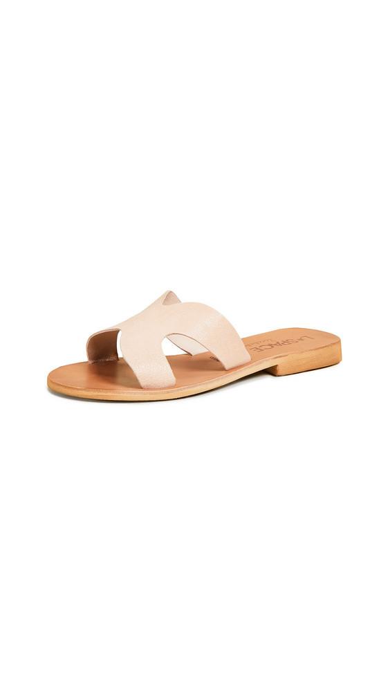 Cocobelle Los Slide Sandals in beige / beige