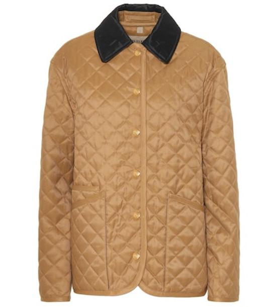 Burberry Quilted jacket in beige / beige