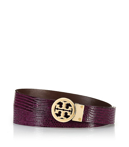 Rotating Logo Belt  | Womens Belts | ToryBurch.com