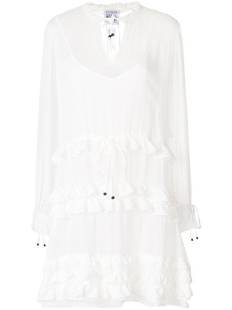 Twin-Set dress shirt dress women white