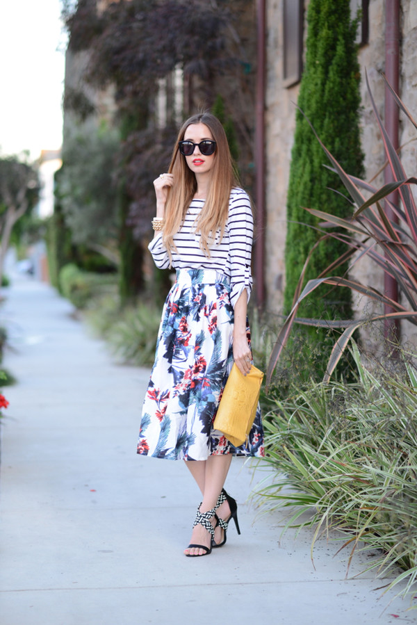 m loves m top skirt shoes bag sunglasses jewels