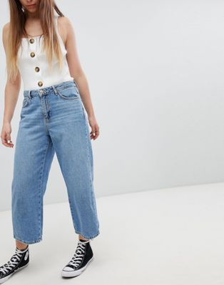 New Look Wide Leg Jean at asos.com
