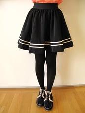 skirt,puffy skirt,flowing black skirt,black skirt