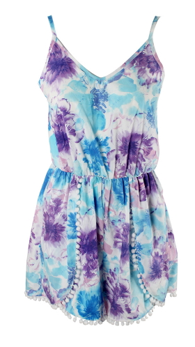 Summer Playsuit - Juicy Wardrobe
