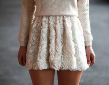High quality flower skirt, skirts, ..