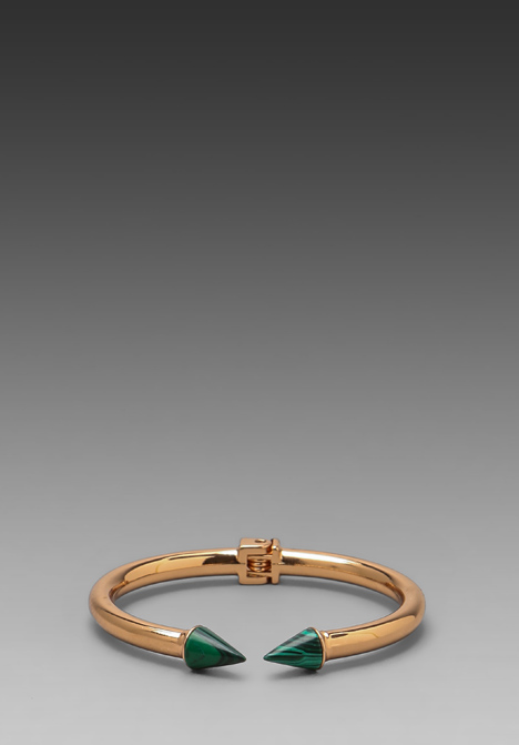 VITA FEDE Mini Titan Stone Bracelet in Rosegold/Malachite at Revolve Clothing - Free Shipping!