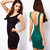 New 2014 Women Clothing High Street Lace Backless Party Bandage Novelty Dress Dresses Full Sexy Bodycon Casual Dress In Stock-in Dresses from Apparel & Accessories on Aliexpress.com