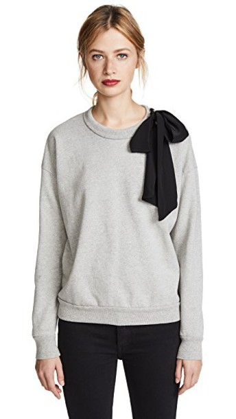 FRAME sweatshirt bow sweater