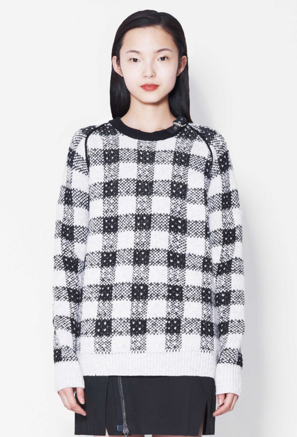 sweater lookbook fashion phillip lim skirt