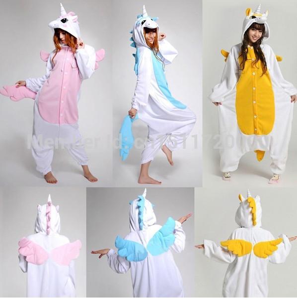 Helloween nueva llegada unicornio pijama kawaii del animado sudadera con capucha pijamas pijama de una pieza cosplay del envío libre en disfraces de moda y complementos en aliexpress.com