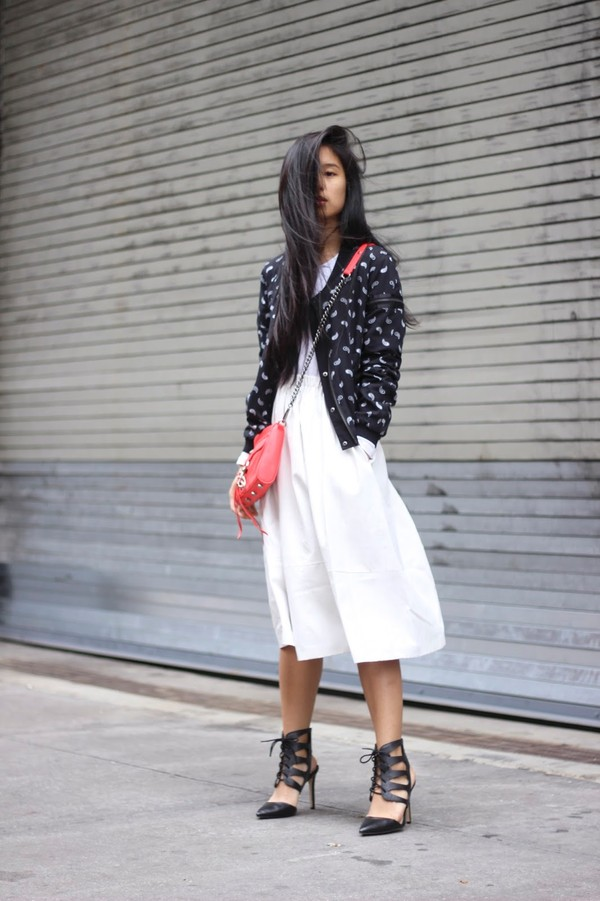 kristenglam sweater skirt shoes jewels dress