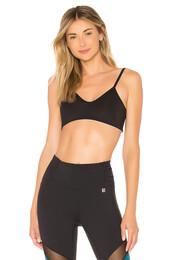 bra,sports bra,black,underwear