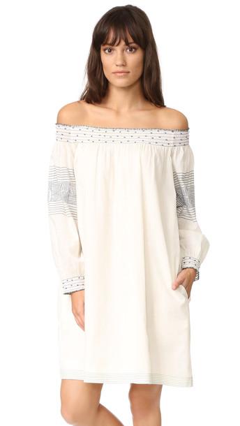 Velvet Deandria Dress - Cream