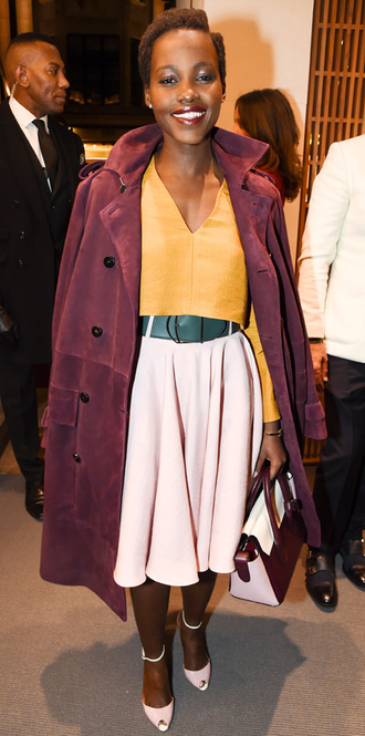 coat lupita nyong'o skirt top