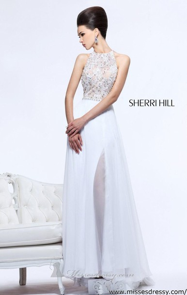 dress, prom, white, sparkle, girl, pretty, amazing, designer dress ...
