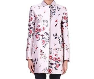 coat floral print jacket