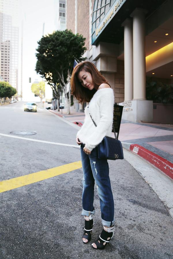 tsangtastic blogger jeans bag