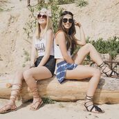 shoes,sandals,lace-up shoes,gladiators,fringes,tassel,desert,coachella,music festival,festival,boho,gypsy,spring,summer,qupid