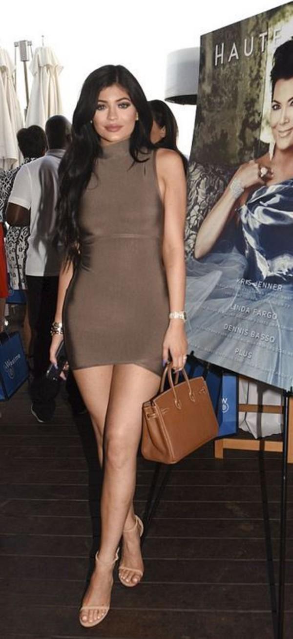 Brown Celebrity Dress