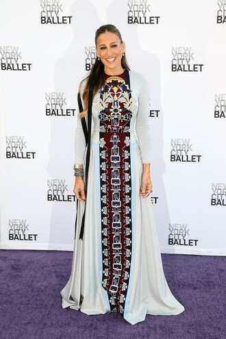 dress maxi dress sarah jessica parker