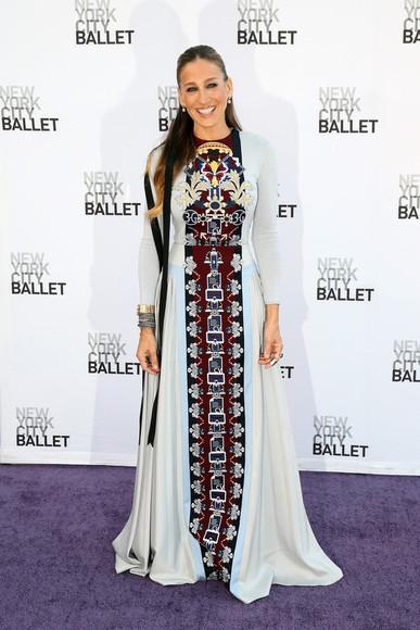 sarah jessica parker dress maxi dress