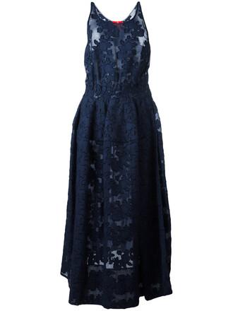 dress maxi dress maxi women cotton blue