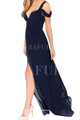 dress maxi dress summer off shoulder maxi dress chiffon chiffon dress chiffon maxi dress zaful blue dress green dress red dress summer dress casual casual dress summer outfits side open party dress sexy sexy dress solid color v neck heart v neck