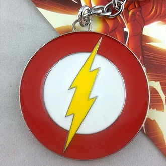 keychain dc flash flash keychain superhero marvel jewels