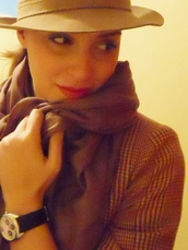borsalino camel hat,hat,sweater