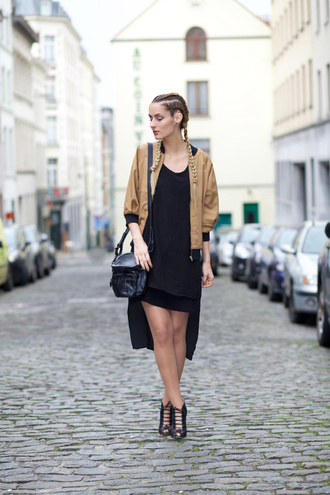 from brussels with love blogger dress jacket bag shoes