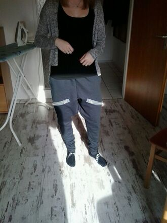 pants slim track pants streetwear joggers urban