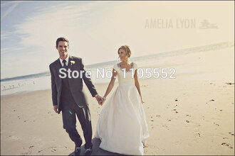 dress beach wedding dress simple wedding dress beaded wedding dress short sleeve wedding dress wedding dress bride dress wedding gown bridal gown