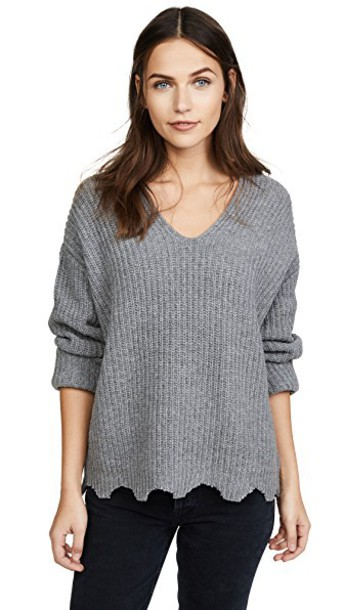 Moon River sweater grey