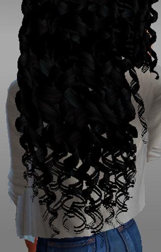 hair accessory extensions curly hair black hair