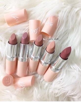 make-up lipstick pink fashion