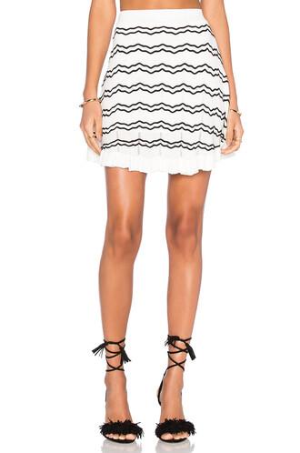 skirt knit white