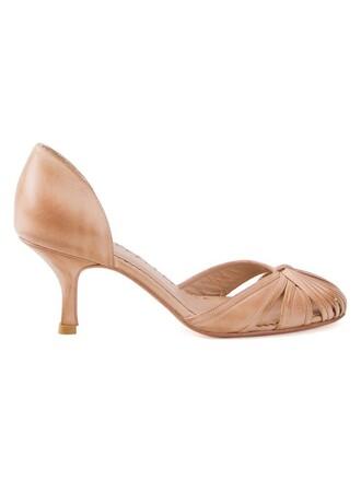 women pumps nude shoes