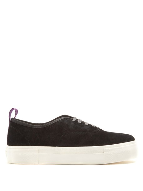 Eytys top suede black