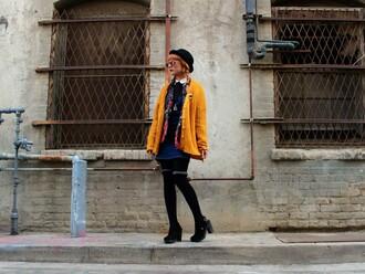 kendall kay blogger blouse dress coat cardigan bag shoes