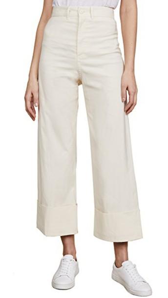 SEA pants classic cream