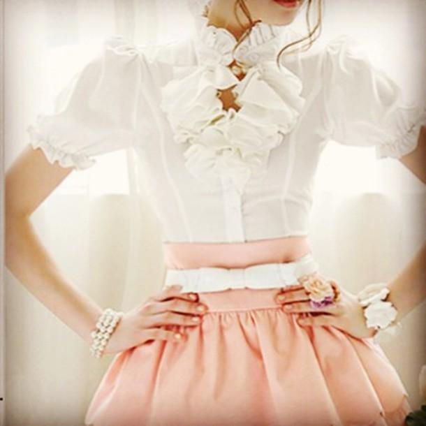 dress ruffled top