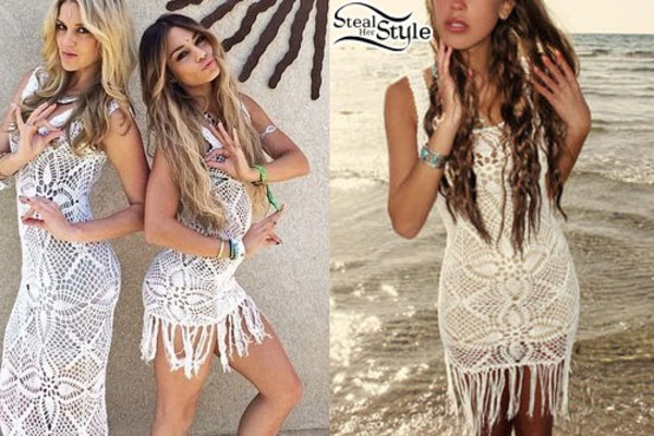 dress vannessa hudgens white dress vanessa hudgens