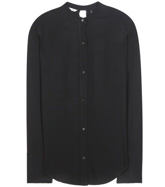 shirt back black top