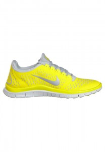 Black Friday Discounts 2013 Men's Nike Performance Nike Free 3.0 Trainers Chrome Yellow Reflecting Silver Platinum