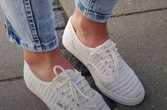 shoes white vans summer