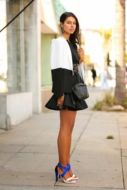 viva luxury shoes skirt t-shirt bag jewels belt
