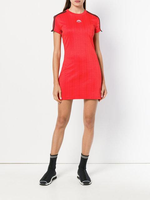 7ffba0811 Adidas Originals By Alexander Wang AW T-shirt Dress - Farfetch