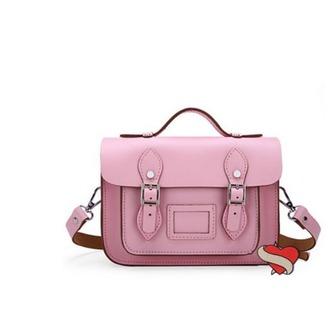 bag pink pink bag shoulder bag messenger bag